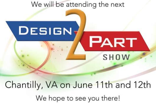 Design2part show
